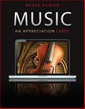 5-CD Set for Music: an Appreciation, Brief Edition, Kamien and Kamien, Roger, 0077377729