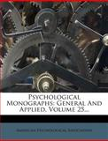 Psychological Monographs, American Psychological Association, 1277247722