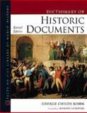 Dictionary of Historic Documents, Kohn, George Childs, 0816047723