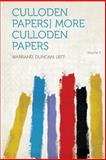 Culloden Papers] More Culloden Papers Volume 3, , 1313927724