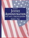 Justice Administration, Peak, Kenneth J., 0137587724
