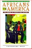 Africans in American, Catherine Reef, 0816037728