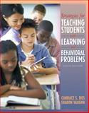 Strategies for Teaching Students with Learning and Behavior Problems, Bos, Candace S. and Vaughn, Sharon, 0205407722