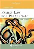 Family Law for Paralegals 5e, Ehrlich, 0735587736