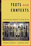 Texts and Contexts, Robinson, William S. and Tucker, Stephanie, 0534507735