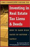 The Complete Guide to Investing in Real Estate Tax Liens and Deeds, Jamaine Burrell, 0910627738