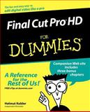 Final Cut Pro HD for Dummies, Helmut Kobler, 0764577735
