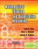 Mathematical Thinking and Quantitative Reasoning, Sons, Linda R. and Nicholls, Peter J., 0757557732
