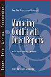 Managing Conflict with Direct Reports, Popejoy, Barbara and McManigle, Brenda J., 1882197739