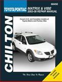 Toyota Matrix and Pontiac Vibe, Jay Storer, 156392773X