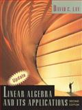 Linear Algebra and its Applications, Lay, David C., 0201347741