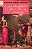 Gypsy-English, English-Gypsy Concise Dictionary, Atanas Slavov, 0781807751