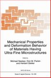 Mechanical Properties and Deformation Behavior of Materials Having Ultra-Fine Microstructures, , 9401047758