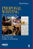 Proposal Writing : Effective Grantsmanship, Coley, Soraya M. and Scheinberg, Cynthia A., 1412937752