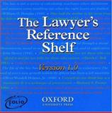 The Lawyer's Reference Shelf, Garner, Bryan A. and Shapiro, Fred R., 0195107764