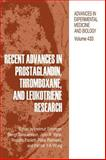 Recent Advances in Prostaglandin, Thromboxane, and Leukotriene Research, , 0306457768