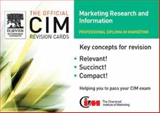 Marketing Research and Information 9780750667760