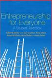 Entrepreneurship for Everyone, Mellor, Robert (Kingston University), 1412947766