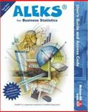 ALEKS for Business Statistics User's Guide and Access Code (Stand Alone for 2 Semesters), Aleks, 0072857765