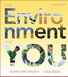 The Environment and You Plus MasteringEnvironmentalScience with EText -- Access Card Package, Christensen, Norman and Leege, Lissa, 0321957768
