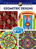 Creative Haven GEOMETRIC DESIGNS Coloring Book, Dover and John Wik, 0486777766