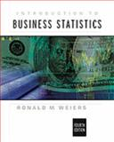 Introduction to Business Statistics 9780534407766