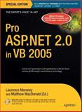 Pro ASP. NET 2. 0 in VB 2005, Laurence Moroney and Matthew MacDonald, 1590597761