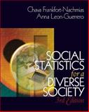 Social Statistics for a Diverse Society with SPSS Student Version 11.0, Frankfort-Nachmias, Chava and Leon-Guerrero, Anna, 0761987770