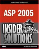 ASP 2005 Insider Solutions, Sussman, David and Homer, Alex, 0672327775