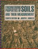 Engineering Properties of Soils and their Measurement, Bowles, Joseph E., 0070067783