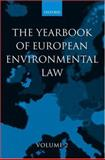 Yearbook of European Environmental Law, H. Somsen, 0199247781