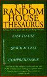Random House Thesaurus, Jess Stein, 0345377788