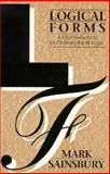 Logical Forms : An Introduction to Philosophical Logic, Sainsbury, R. M., 0631177787