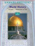 World History Vol. 1 : Prehistory to 1500, Mitchell, Joseph and Mitchell, Helen Buss, 0078127785