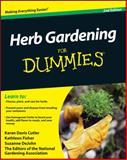 Herb Gardening for Dummies, Karan Davis Cutler and Kathleen Fisher, 0470617780