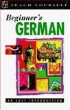 Teach Yourself Beginner's German 9780844237787