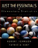 Just the Essentials of Elementary Statistics, Johnson, Robert R., 0534357792