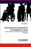 Contemporary Perspectives on Disability in Indi, Renu Addlakha, 3844307796