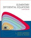 Differential Equations : Computing and Modeling, Penney, David E. and Edwards, C. Henry, 0130797790