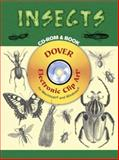 Insects CD-ROM and Book, , 0486997790