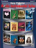 Easy Popular Movie Instrumental Solos: Trombone, Alfred Publishing, 0739047795