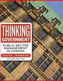 Thinking Government 2/E, Johnson, David, 1551117797