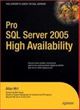Pro SQL Server 2005 High Availability, Hirt, Allan, 159059780X