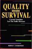 Quality Means Survival 9780136267805