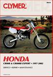 Honda Cr80r, Cr80rb Expert, 1997-2002, Clymer Publications Staff and Tim Bergland, 0892877804