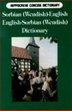 Sorbian-English, English-Sorbian Concise Dictionary, Mercin Strauch, 0781807808