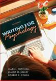 Writing for Psychology, Mitchell, Mark L. and Jolley, Janina M., 0495597813