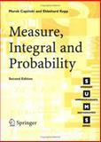 Measure, Integral and Probability, Capinski, Marek and Kopp, Peter E., 1852337818