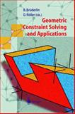 Geometric Constraint Solving and Applications, , 3642637817
