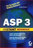 ASP 3 Developer's Reference, Petroutsos, Evangelos, 0782127819